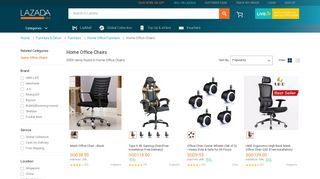 Lazada Office Chairs