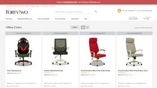 Forty Two Office Chairs